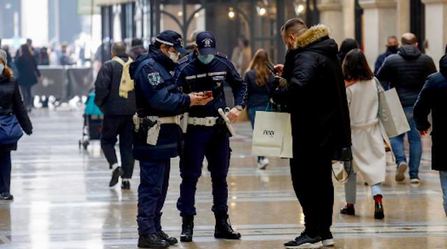 lockdown we Włoszech