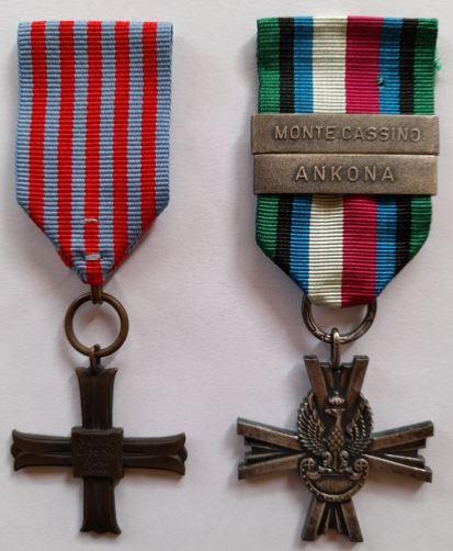 Krzyż Pamiątkowy Monte Cassino