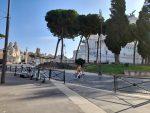 Rzym, okolice placu Weneckiego w czasie lockdownu. Fot. Danuta Wojtaszczyk